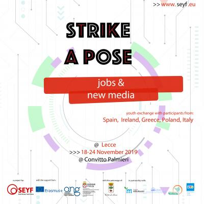 "Press Release ""Strike a Pose"" Italy"