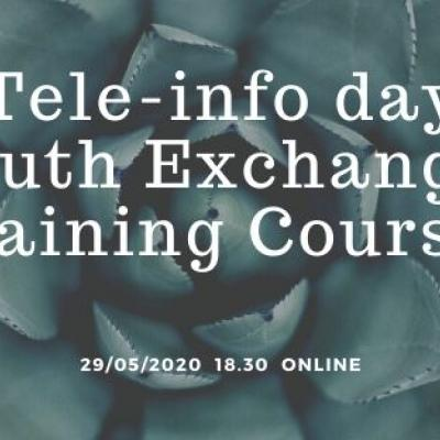 Book your Ticket to Tele-info day Youth Exchanges/Training Courses