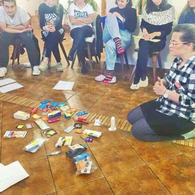 """""""New faces, new people from different corners of Europe and a couple of days ahead to get to know each other better, explore new ideas and get knowledge about a really really interesting topic."""""""