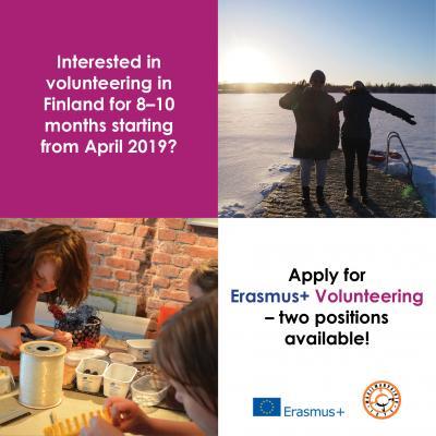 Εθελοντικό Πρόγραμμα Φιλανδία 1.4.–30.11.2019 Φιλανδία