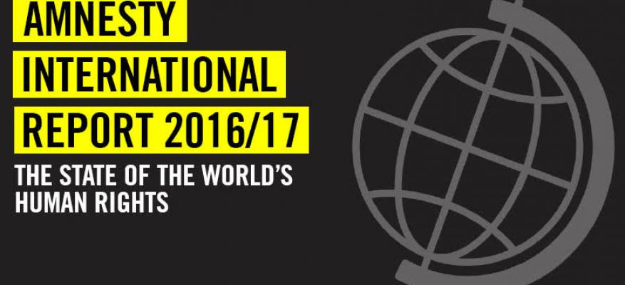 The state of Greece and the World's Human Rights according to Amnesty International