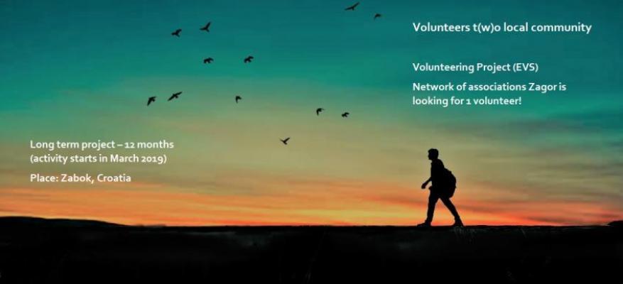 Εθελοντικό Πρόγραμμα Κροατία Μάρτιος 2019-Φεβρουάριος 2018